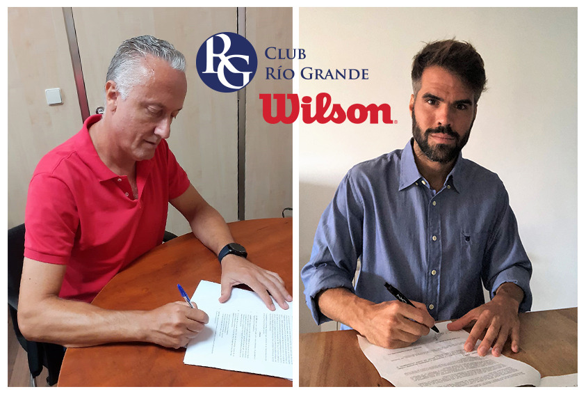 César Salvatierra (Río Grande) y David Clavera (Wilson)
