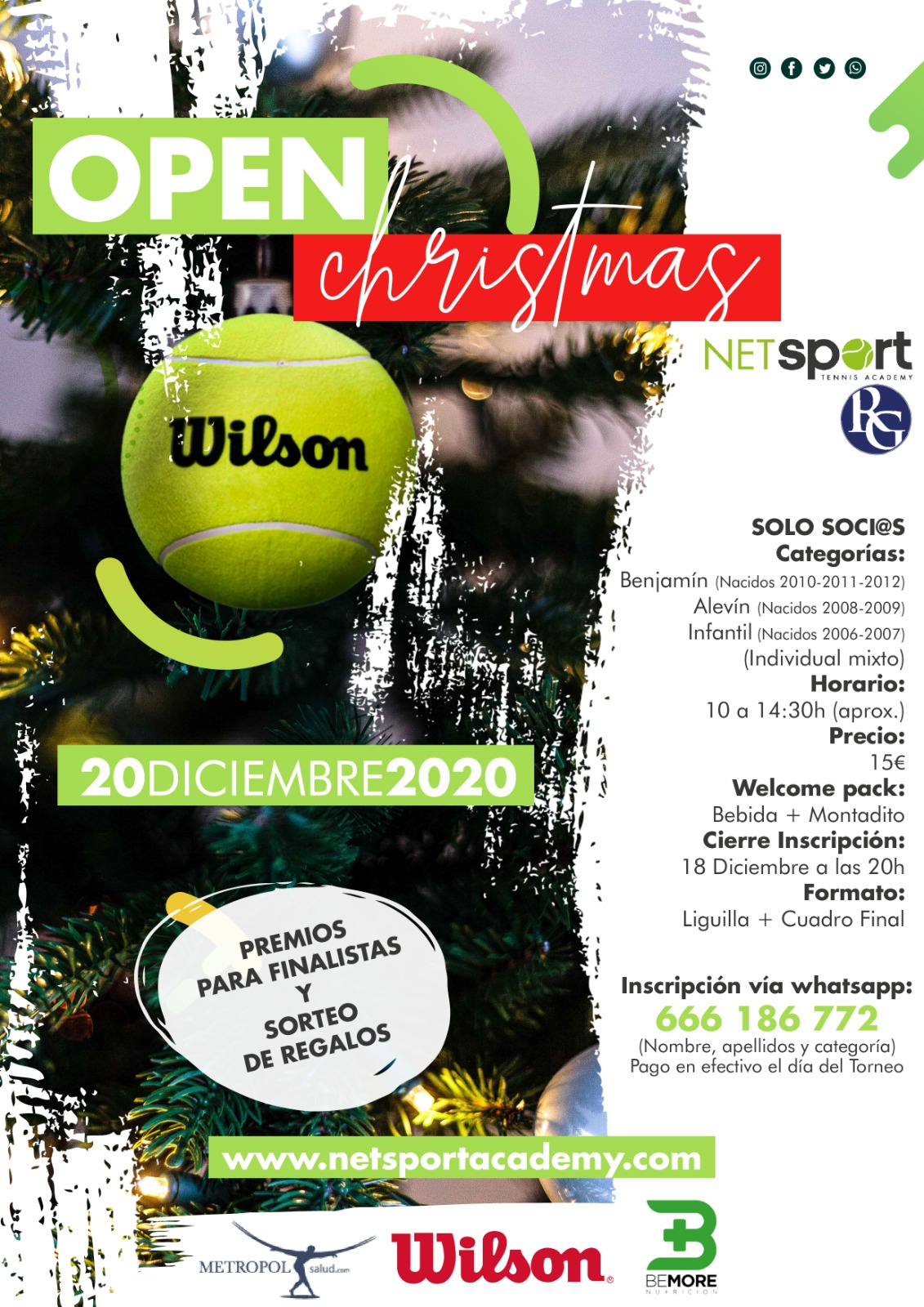 Cartel del Christmas Open 2020