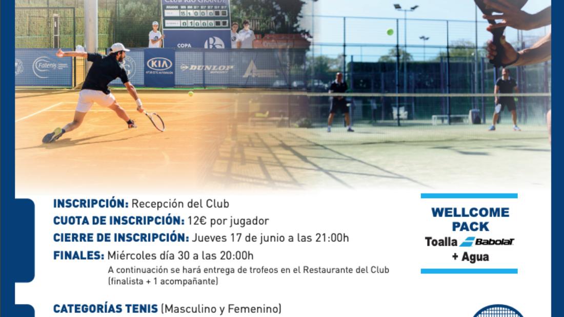 Torneo Social Tenis y Pádel